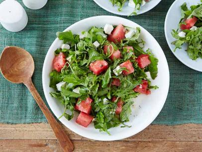 Ina's Arugula, Watermelon and Feta salad