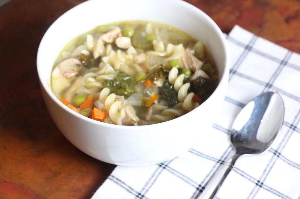 Leftover Thanksgiving Turkey Noodle Soup