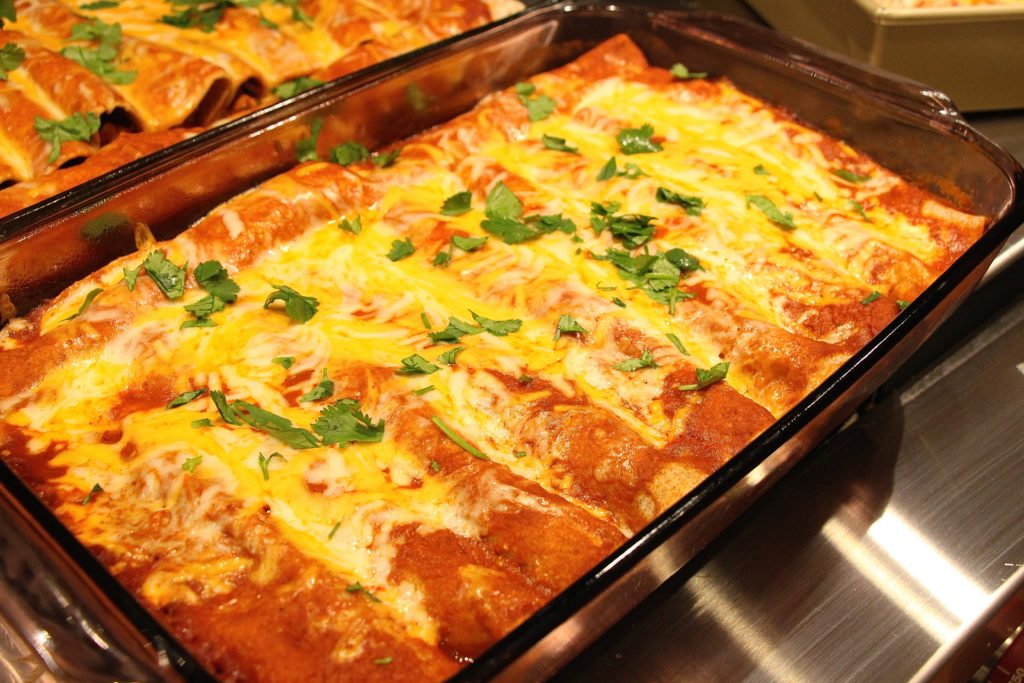 Turkey And Black Bean Enchiladas Recipes — Dishmaps