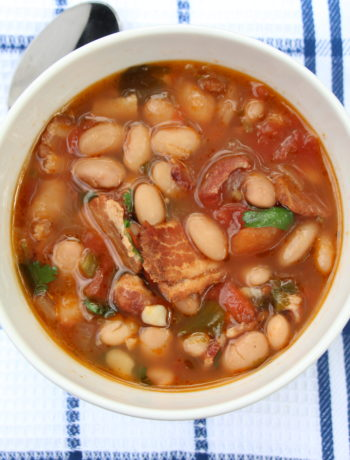 Crockpot Borracho Beans