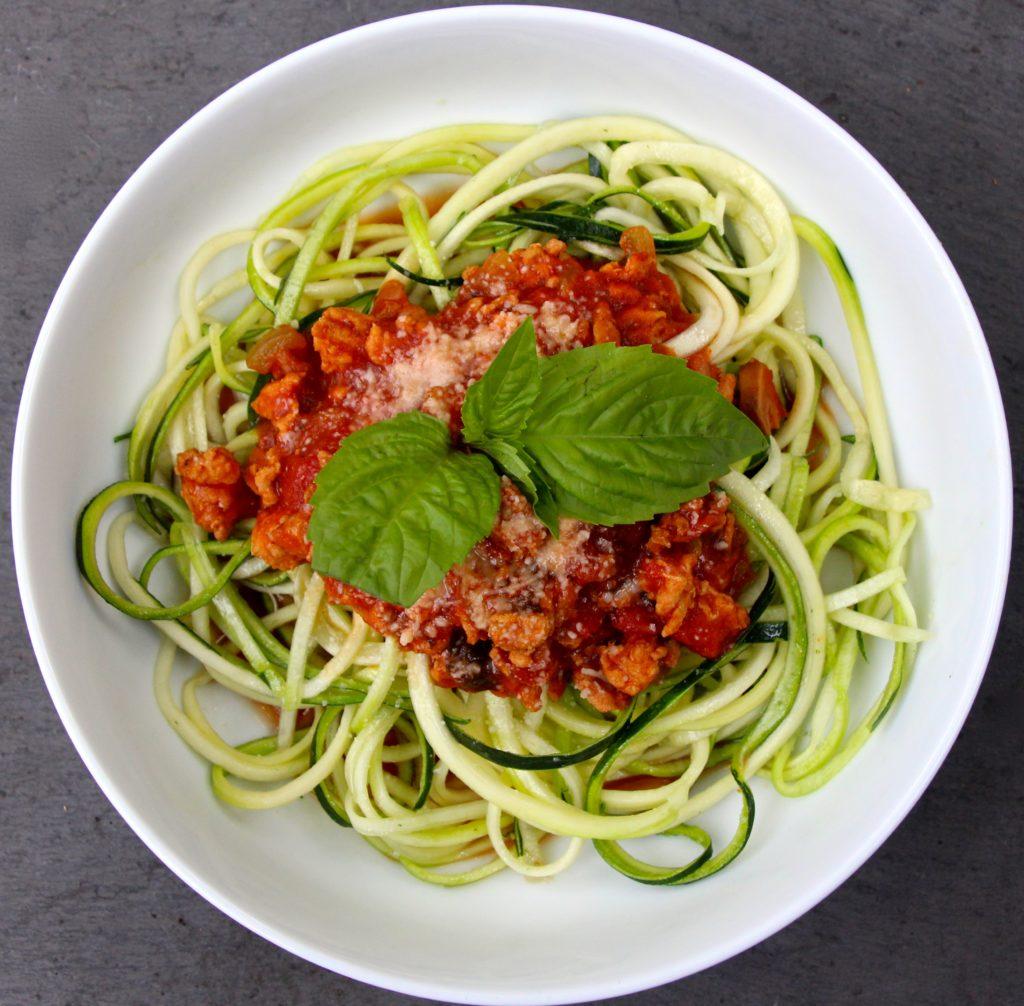 Crockpot Turkey and Mushroom Spaghetti Sauce