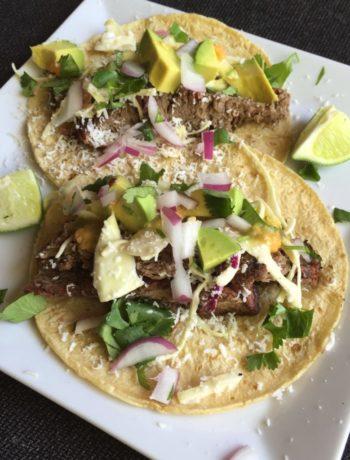 Grilled Flank Steak Tacos