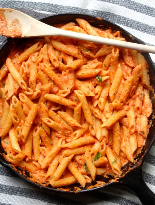 Penne alla Vodka with Greek Yogurt