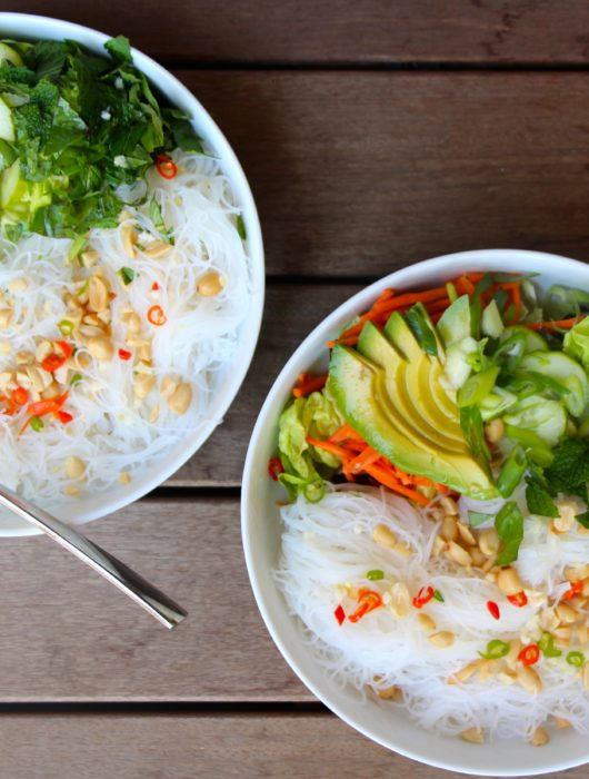 Vermicelli Bowls with Nuoc Cham Sauce