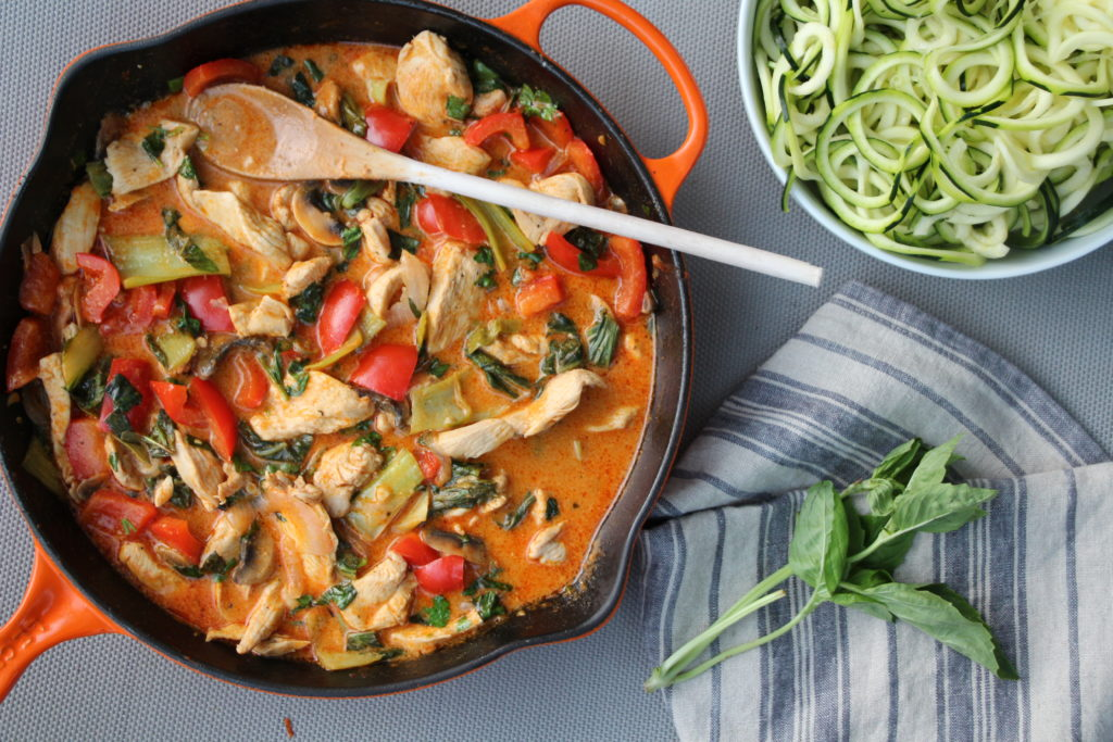 Thai red curry with chicken and veggies the defined dish for Red boat fish sauce whole foods