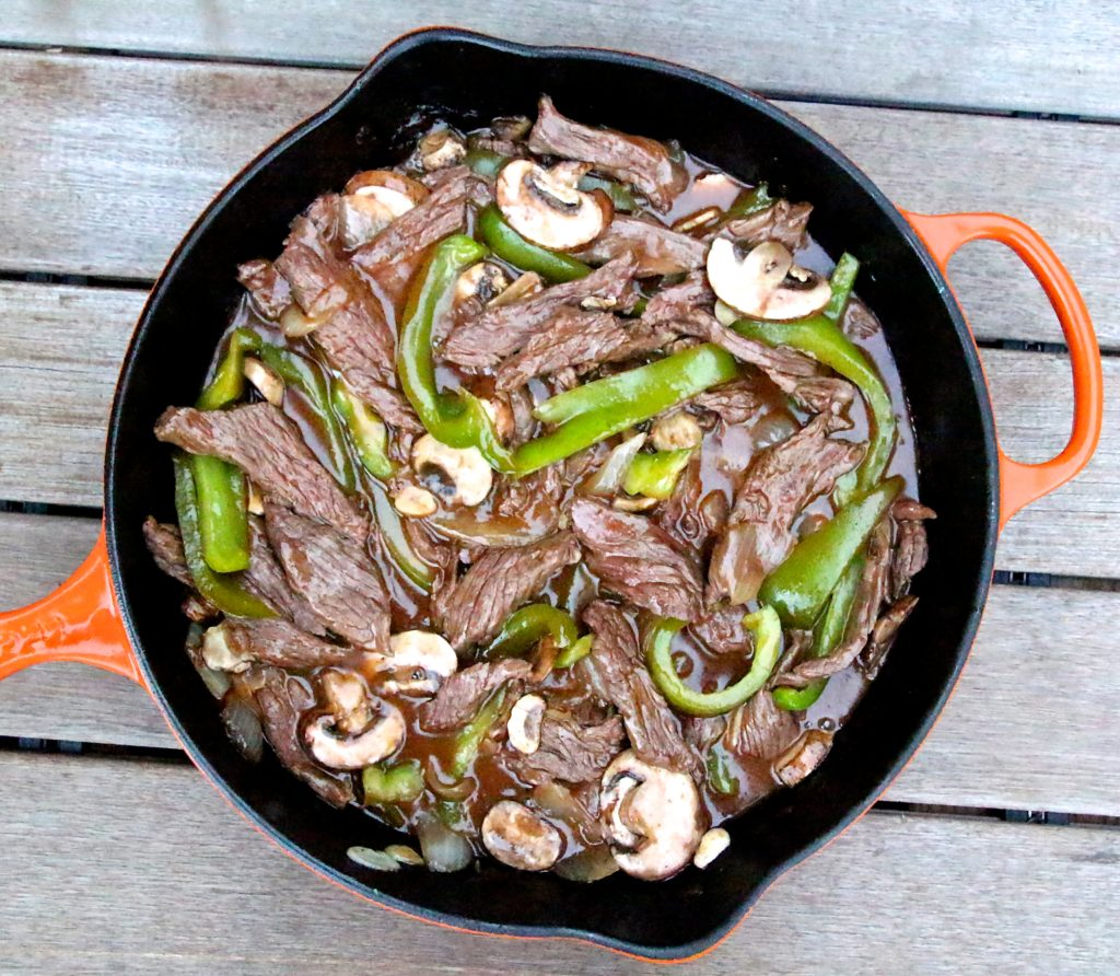 Chinese Peppered Steak