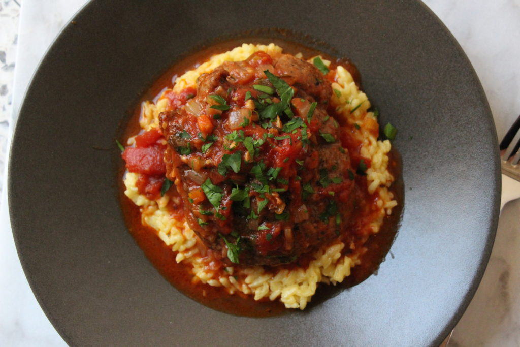 Osso Buco in Tomatoes