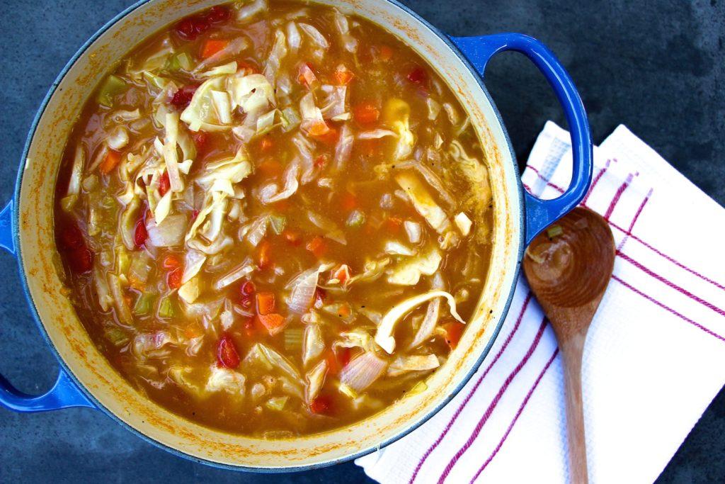 Detoxing Cabbage Soup