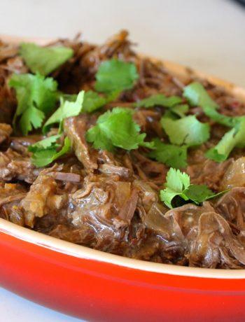 Crockpot Spicy Barbacoa Beef