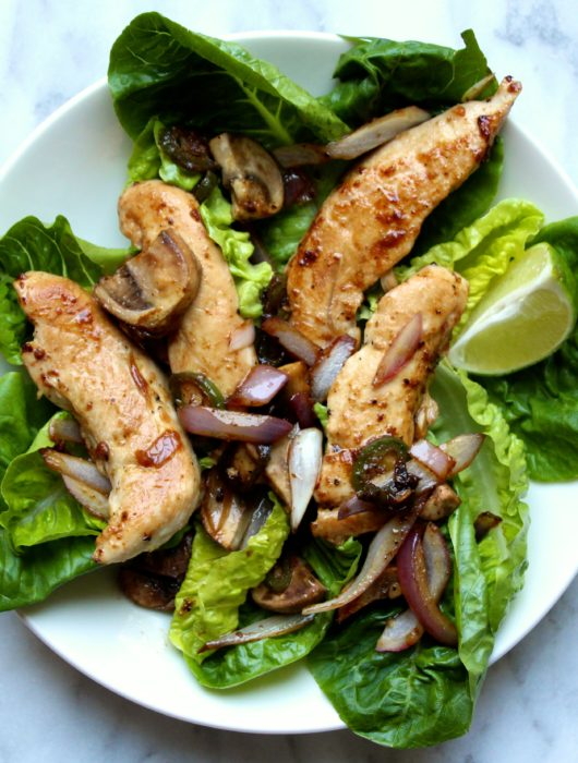 Jalapeno and Ginger Chicken Salad