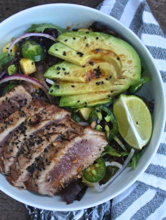 Seared Tuna Summer Salad