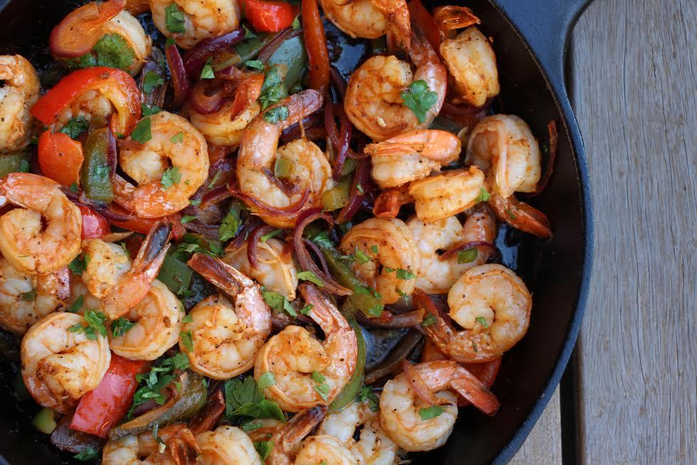 Sizzling Shrimp Fajitas – The Defined Dish
