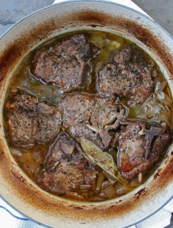 One-Pot Greek Braised Lamb