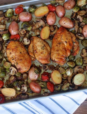 One-Pan Balsamic Chicken