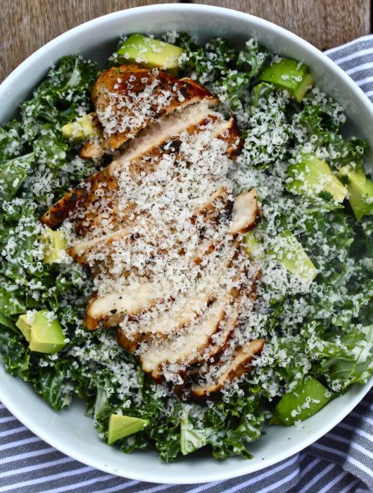 whole3 Kale Caesar Salad