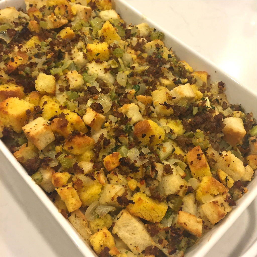 Classic Sage And Sausage Stuffing The Defined Dish