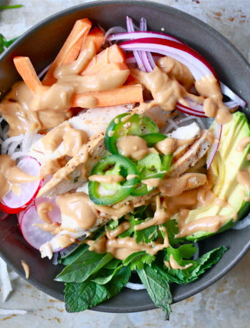 Whole30 Spring Roll Bowl