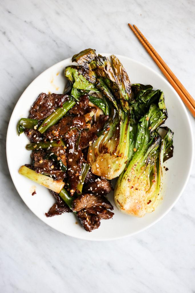 Whole30 Mongolian Beef Stir Fry