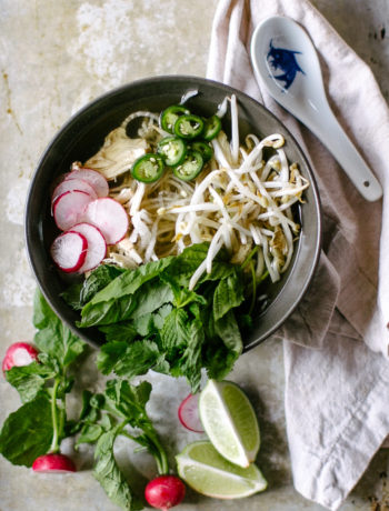 Whole30 Lemongrass Chicken Pho