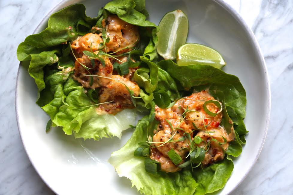 Bang Bang Shrimp Lettuce Wraps The Defined Dish