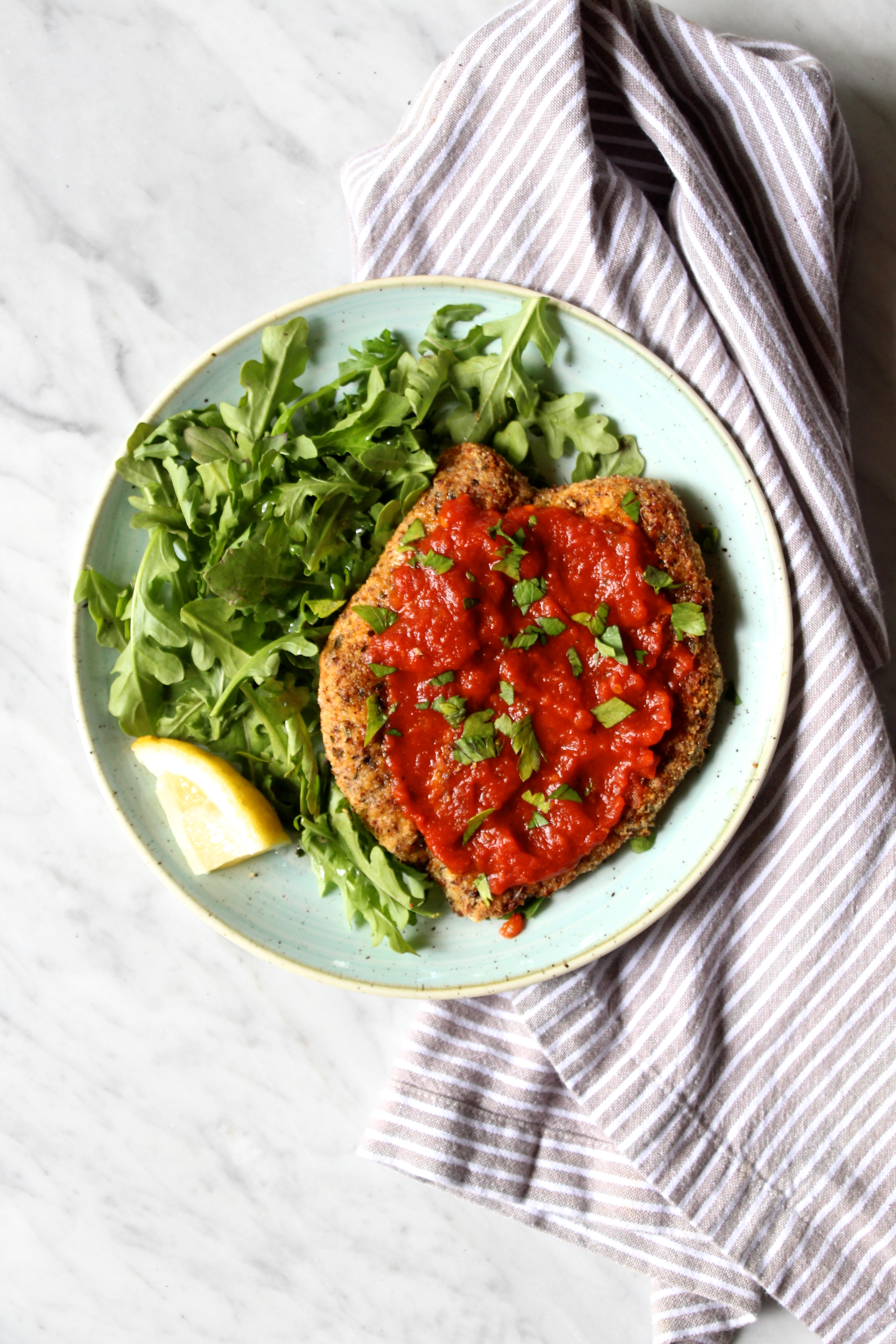 Whole30 Chicken Parmesan The Defined Dish