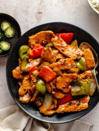 whole30 chinese jalapeño chicken
