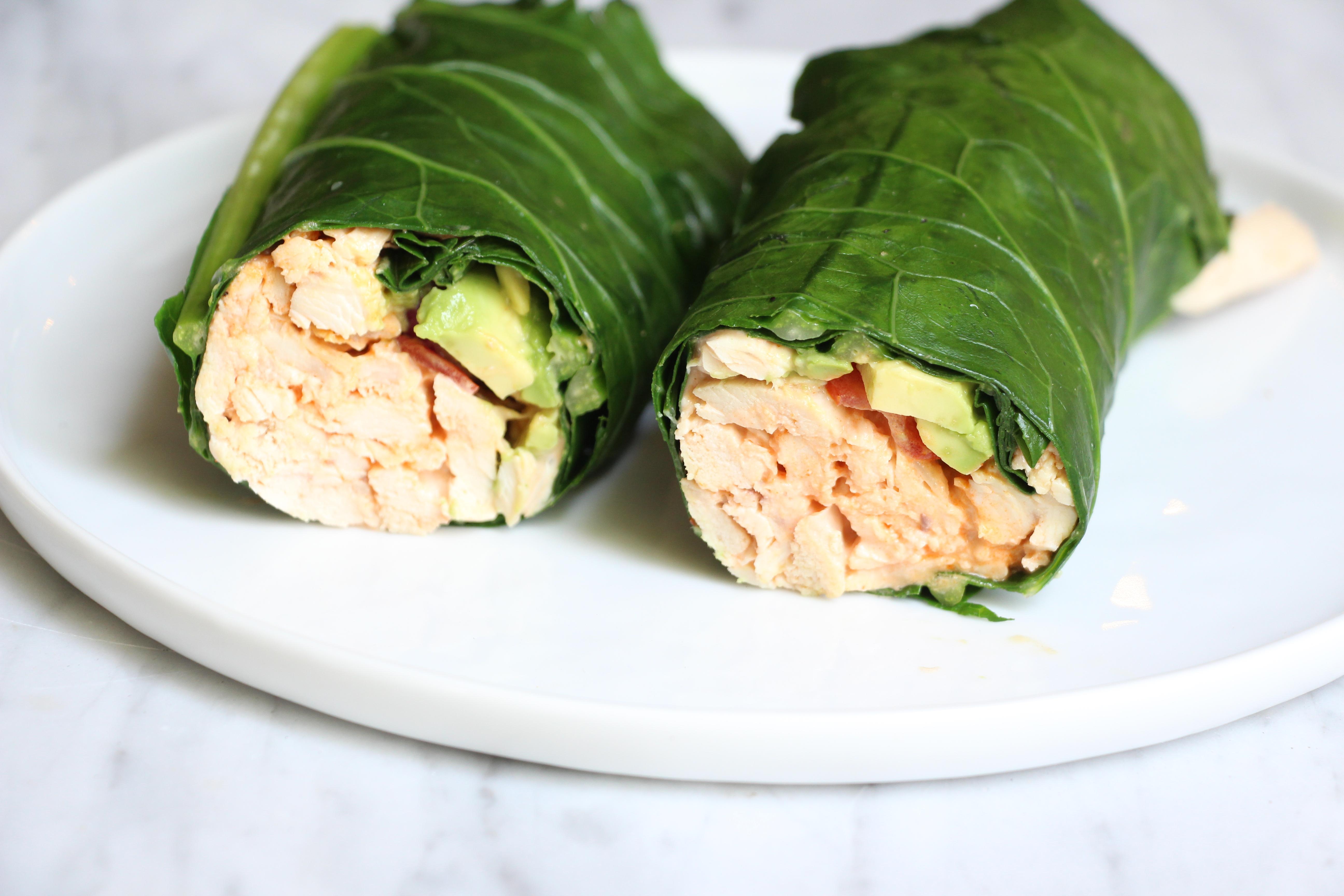 How to Make Perfect Collard Green Wraps