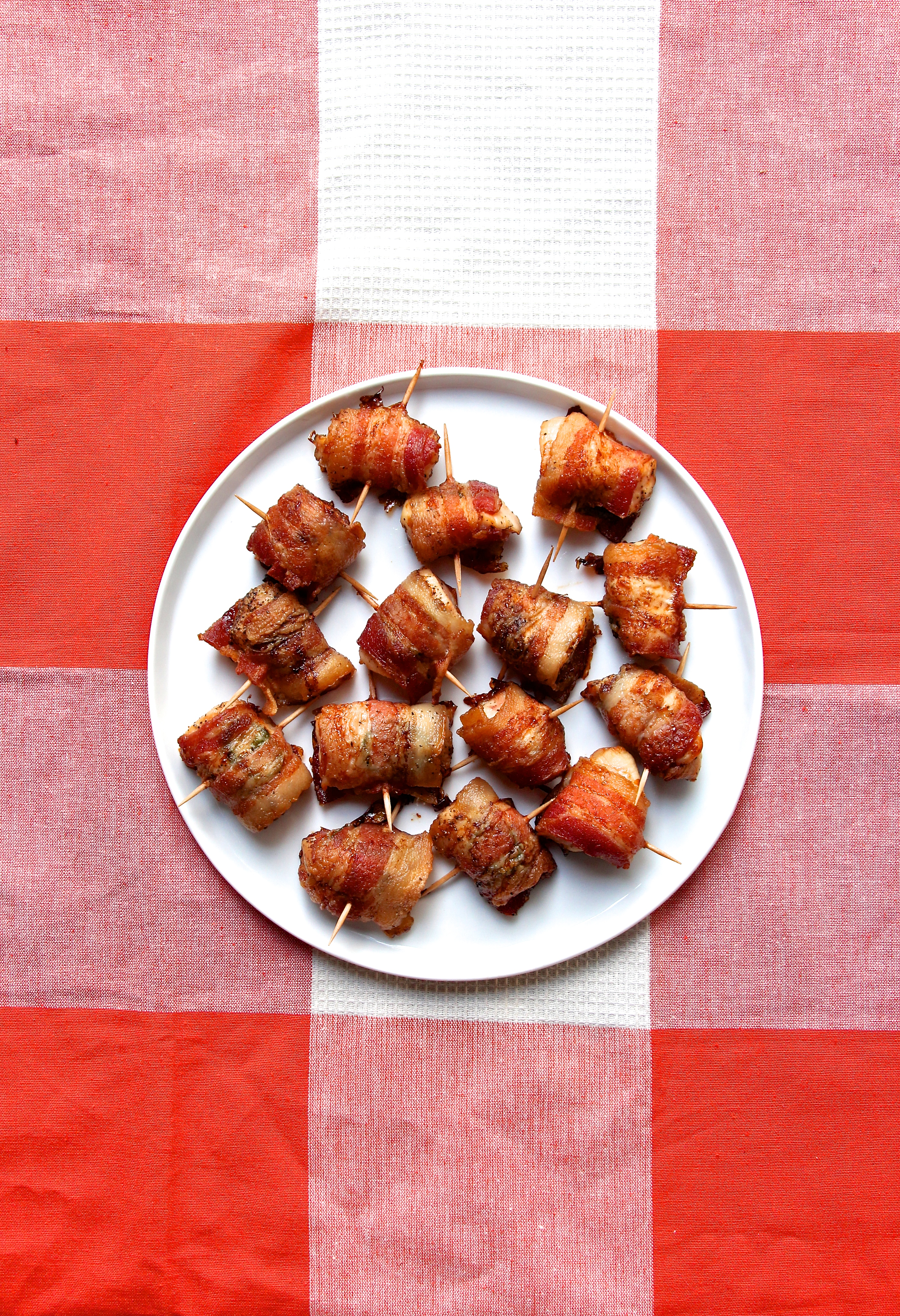 """Bacon Wrapped Anything Is Always A Great Crowd Pleasing Appetizer Growing  Up, We Made What We Like To Call €�chicken Lizzies"""", Which Is What I've  Posted"""