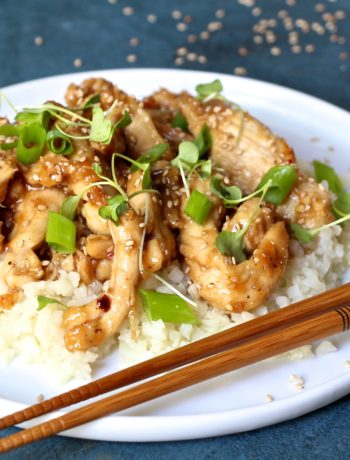 Paleo Chinese Sesame Chicken