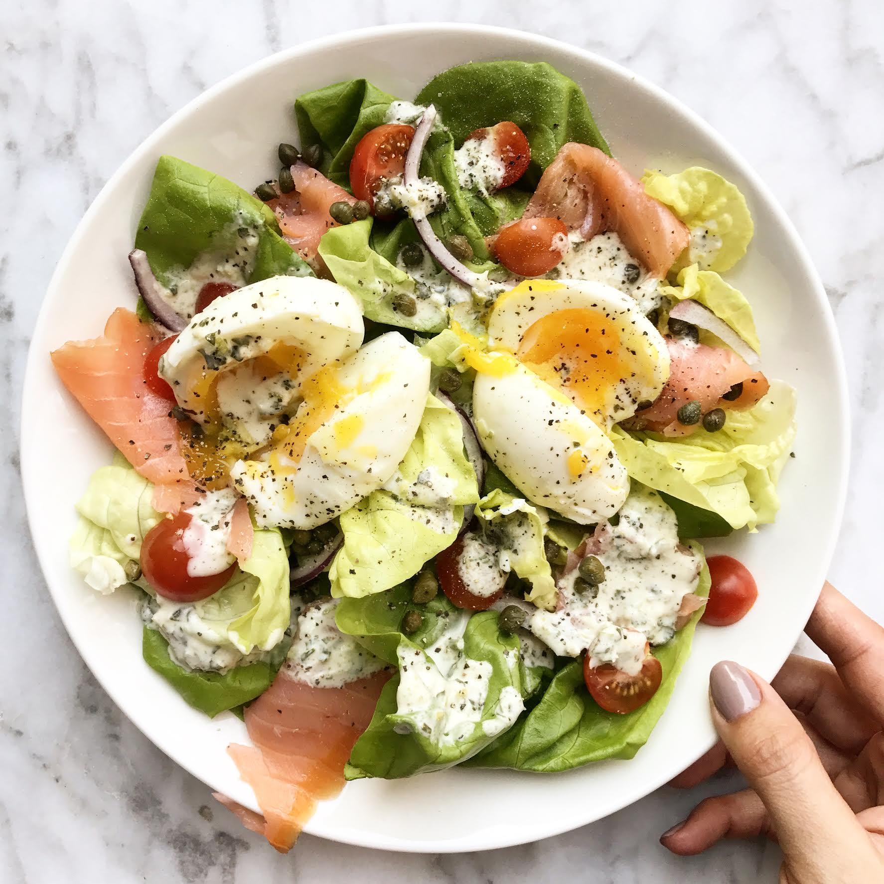 традиционный салат на завтрак рецепт с фото происходит при низкой