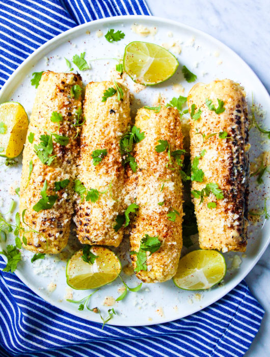 Grilled Mexican-Style Street Corn