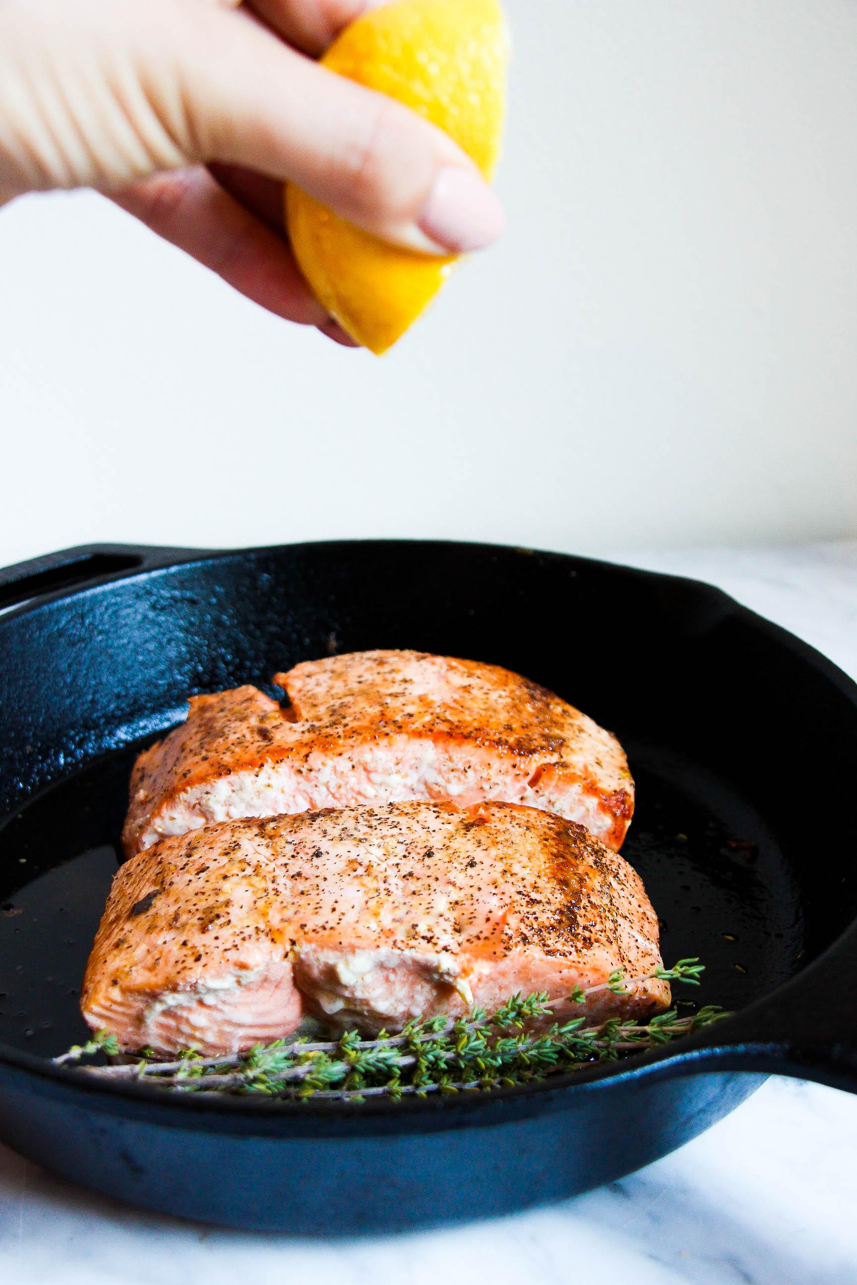 Perfect Pan-Roasted Salmon