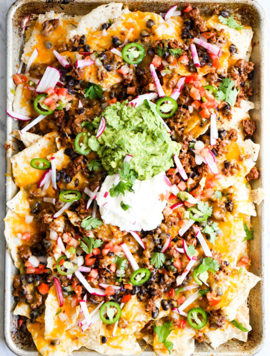 Ultimate Game-Day Nachos
