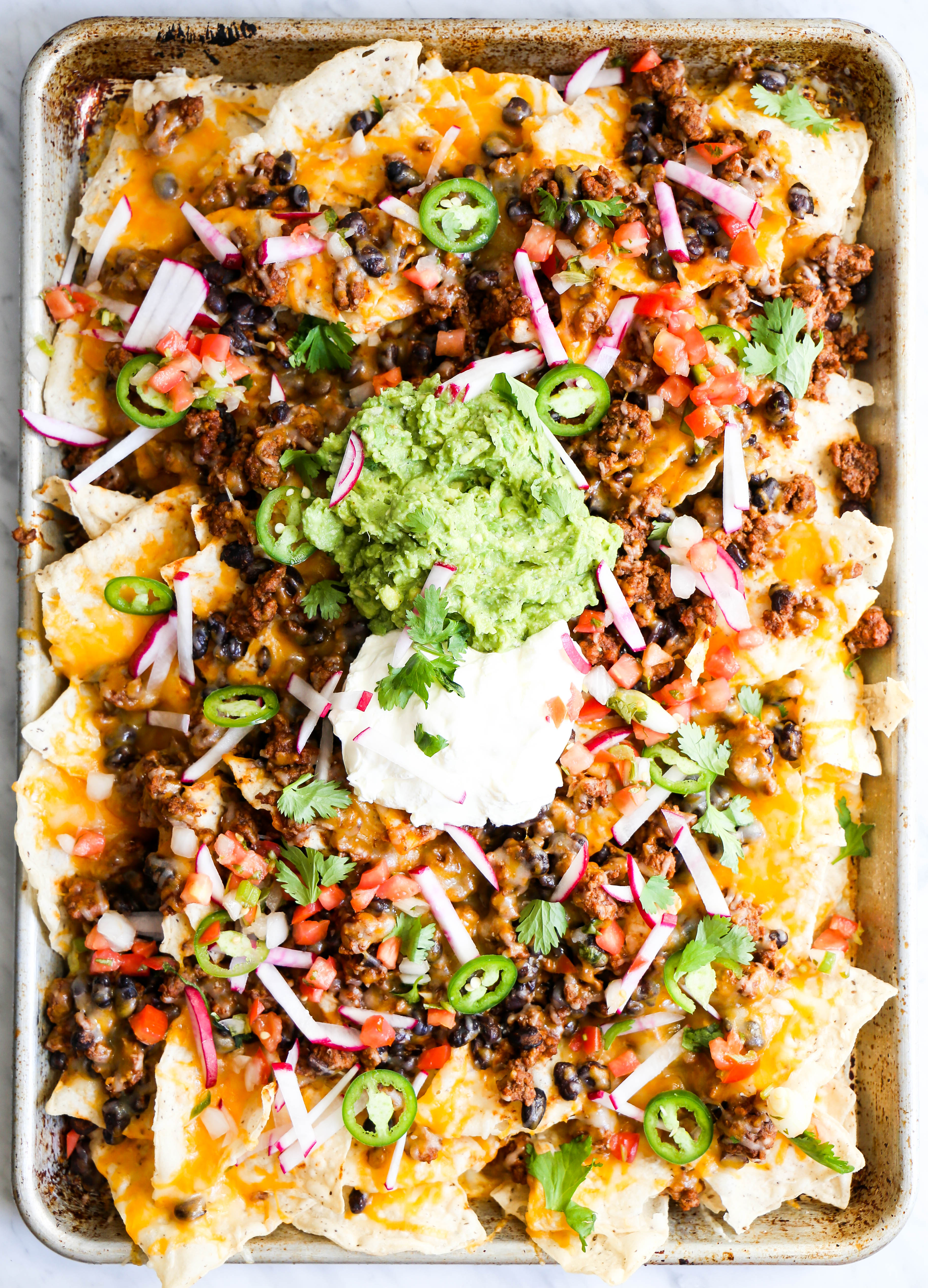 ultimate game day nachos