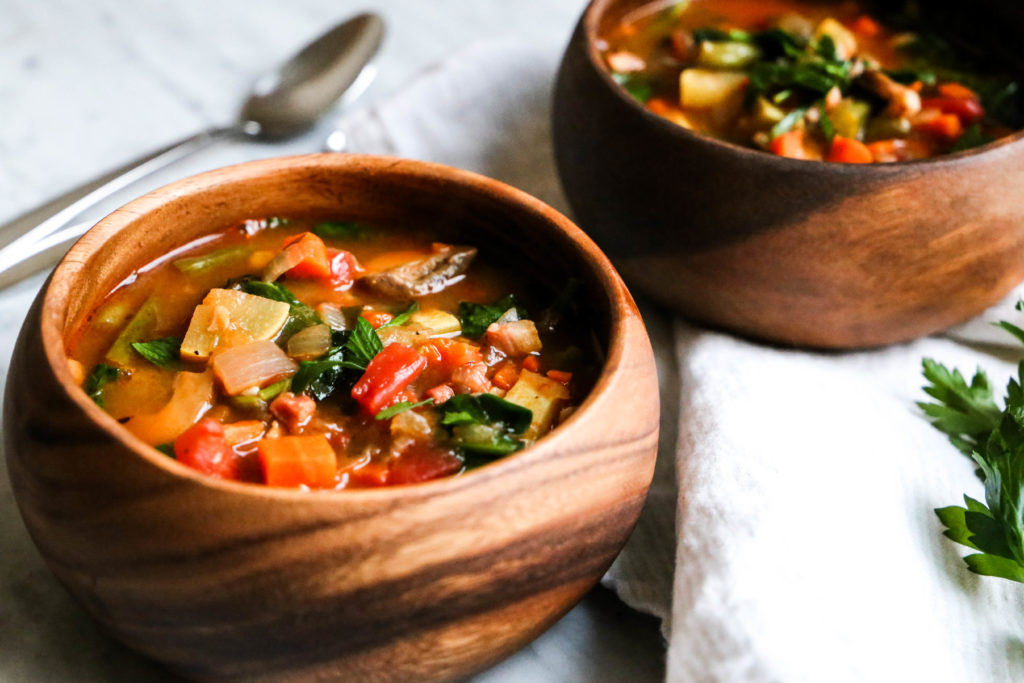 whole30 minestrone soup