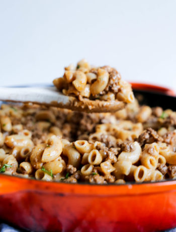 One-Pot Hamburger Helper