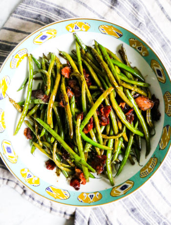 Bacon-Balsamic Green Beans