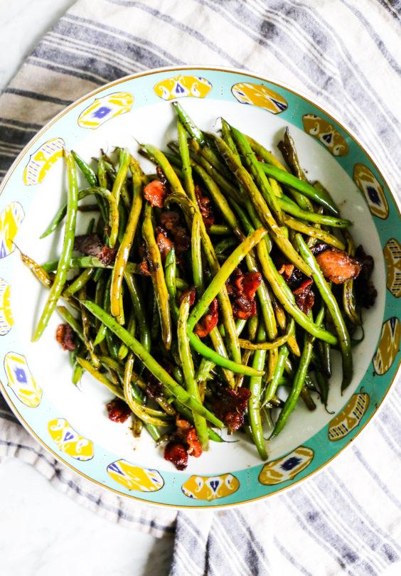 Bacon-Balsamic Green Beans