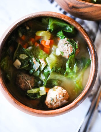 Whole30 Italian Wedding Soup