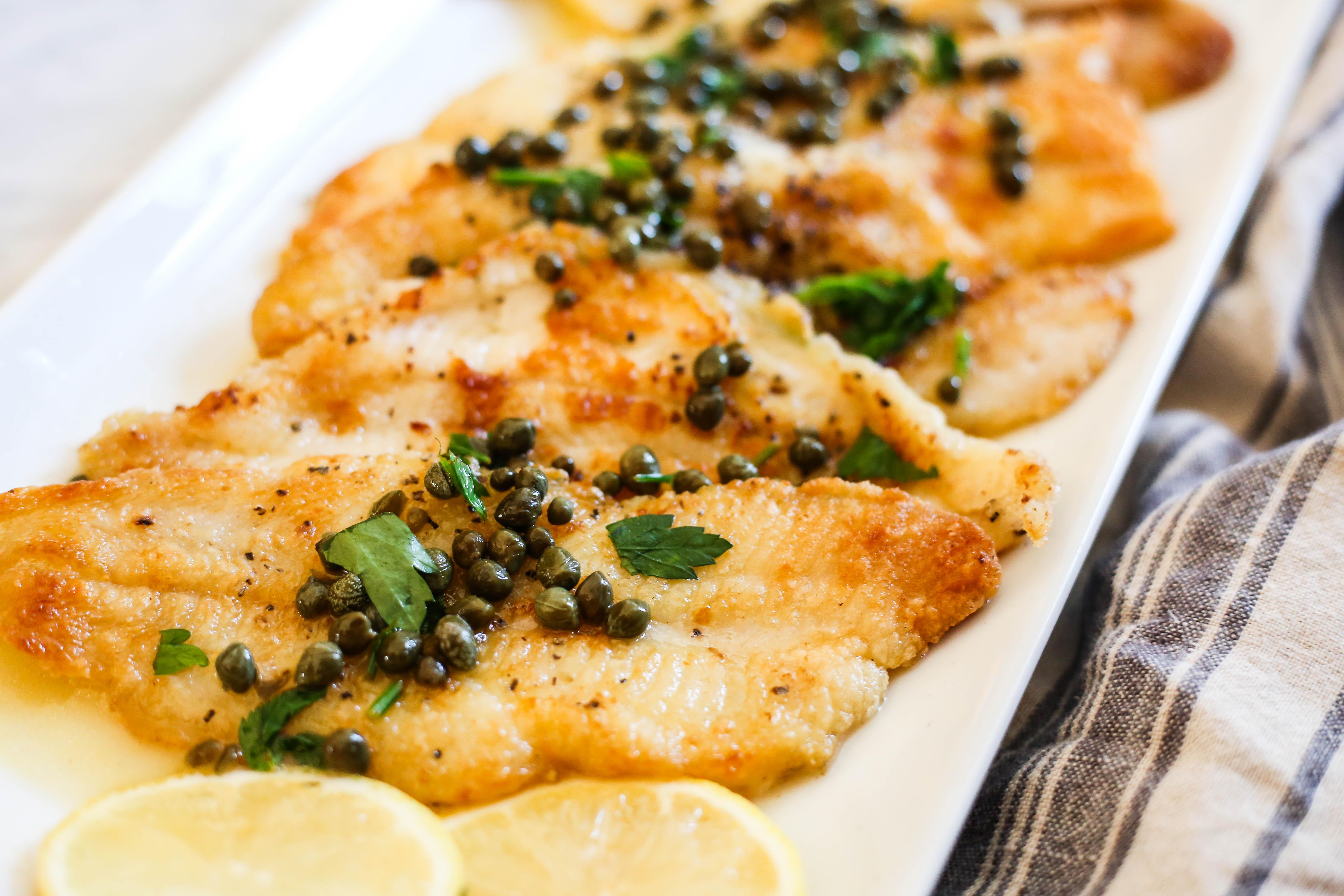 Sole Piccata – The Defined Dish