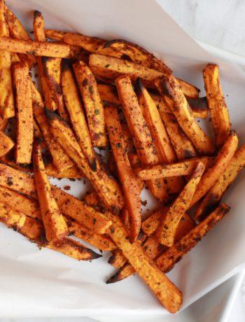 Zesty Sweet Potato Fries