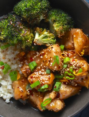 Whole30 Chinese Orange Chicken