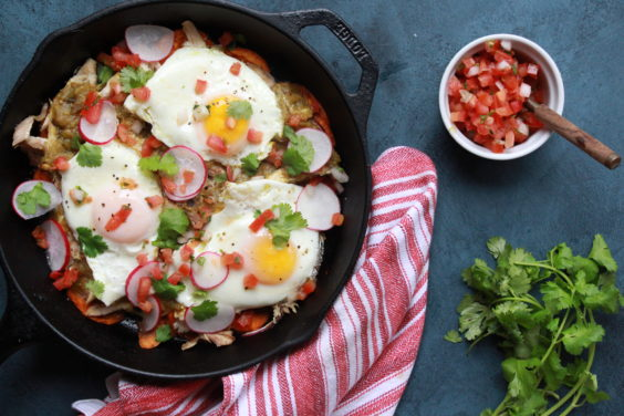 Whole30 Chilaquiles Verdes