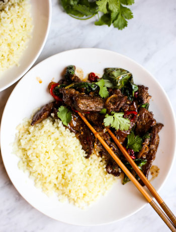 Whole30 Thai Basil Beef (Pad Gra Prow)