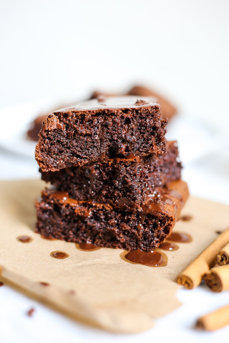 Paleo Mexican Brownies