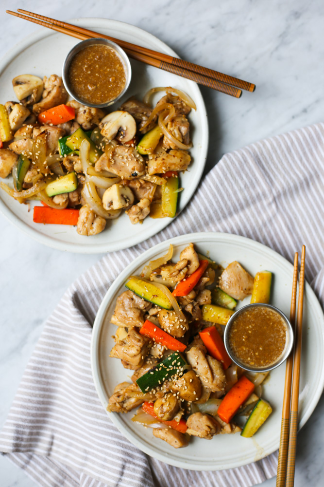 hibachi style chicken with magic mustard sauce the defined dish