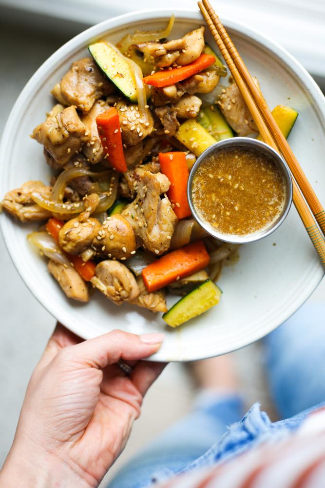 Hibachi Style Chicken