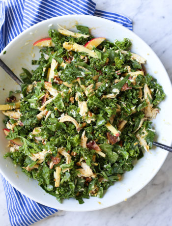 Kale + Chicken Waldorf Salad