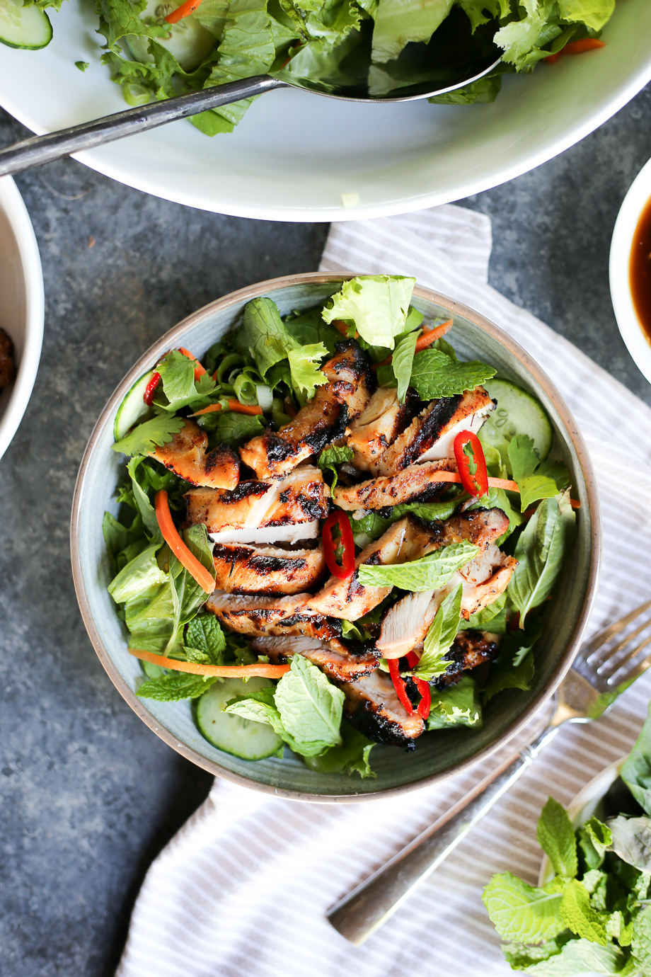 Lemongrass Chicken Salad