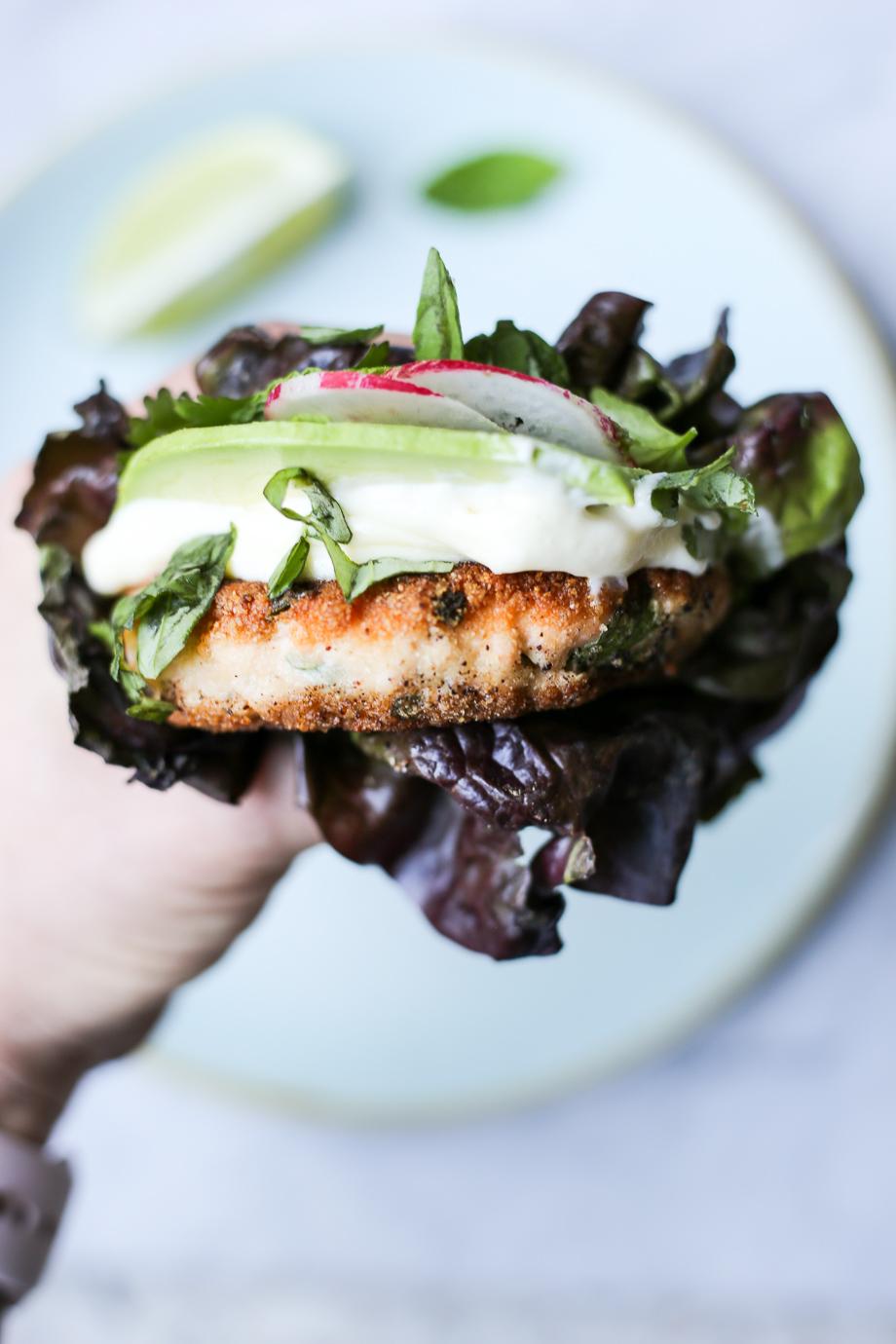 Thai Salmon Burgers